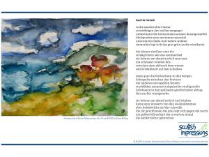 scottish impressions  | zwei gedichte und aquarelle