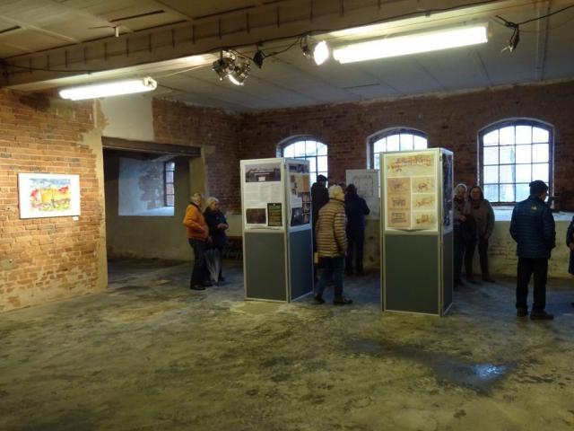 Kunst in der Alten Möbelfabrik | Aquarelle von Klaus Bölling © 2020 by Klaus Bölling