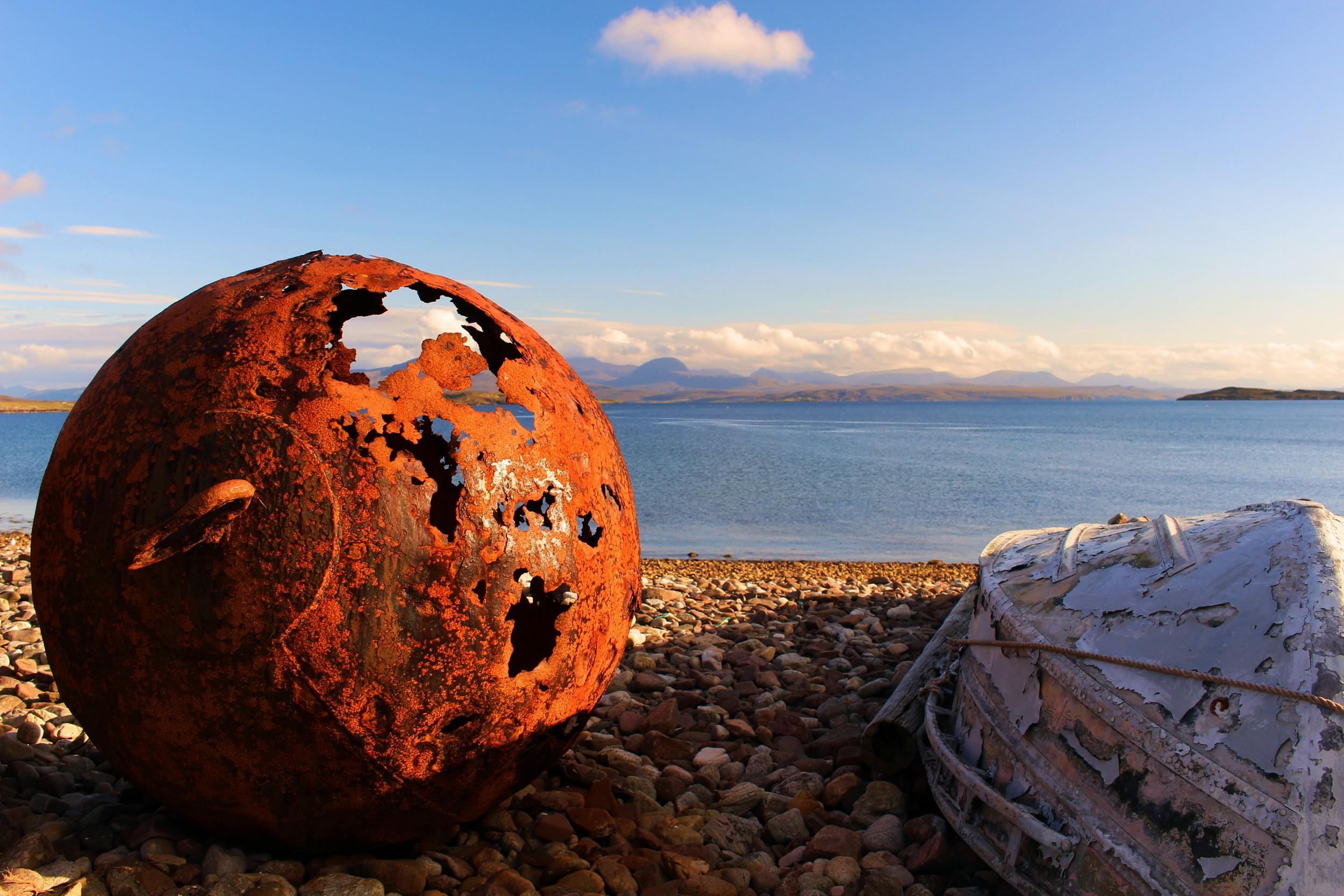 Badentarbet Bay, North West Highlands © by Klaus Bölling