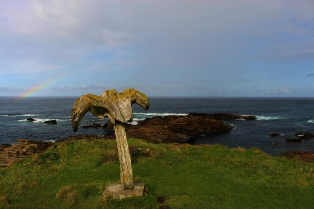 Birsay Whalebone, Orkney © by Klaus Bölling