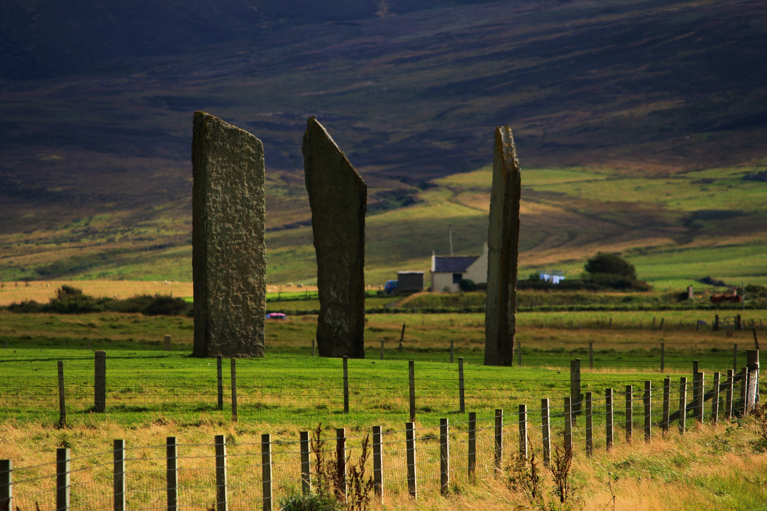 Standing Stones of Stennes, Orkney © by Klaus Bölling